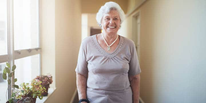 Senior Enjoying Assisted Living